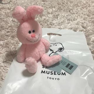 SNOOPY - 【新品】 スヌーピーミュージアム くたくたウサギ  ぬいぐるみ