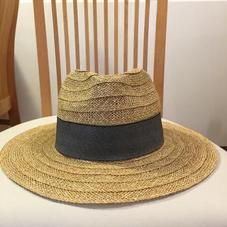ザラ(ZARA)のZARA  ザラ  麦わら帽子  M(麦わら帽子/ストローハット)