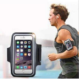 TB128 防水スポーツアームバンド iPhone8 7 6 対応◆黒(リュック/バックパック)