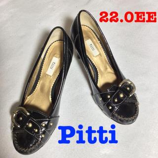 ピッティ(Pitti)のPitti ピッティ ハイヒール 22.0cm 黒(ハイヒール/パンプス)