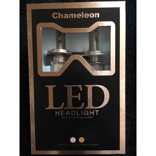 白黄2色! LEDヘッドライト H4 50W(汎用パーツ)