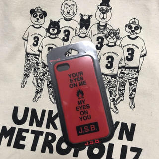 サンダイメジェイソウルブラザーズ(三代目 J Soul Brothers)の三代目 J.S.B. UM iPhone7 case(iPhoneケース)