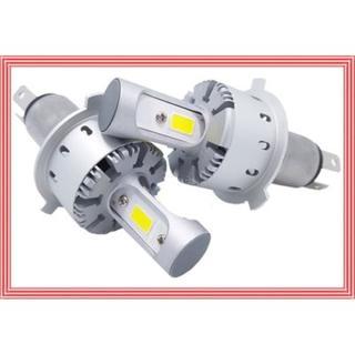 即取付け! LEDヘッドライト H4 Hi/Lo 車検対応 ワンタッチ取付(汎用パーツ)