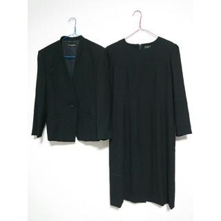 クミキョク(kumikyoku(組曲))のNoir Robe オンワード樫山 ブラックフォーマル 喪服 礼服 スーツ 9 (礼服/喪服)