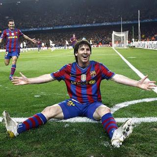 ナイキ(NIKE)の貴重 FCバルセロナ メッシ NIKE ユニフォーム M クラブW杯バッジ付き(ウェア)