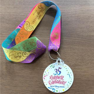 Disney - ディズニー 35周年 ハピエストセレブレーション メダル