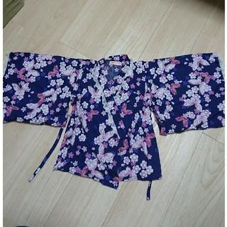 シマムラ(しまむら)の浴衣 セットアップ 美品 激安(甚平/浴衣)