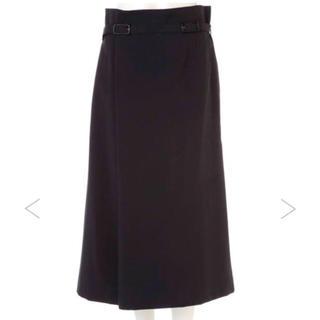 アドーア(ADORE)の今季完売品 ADORE 美品 ベルト付きスカート(ひざ丈スカート)