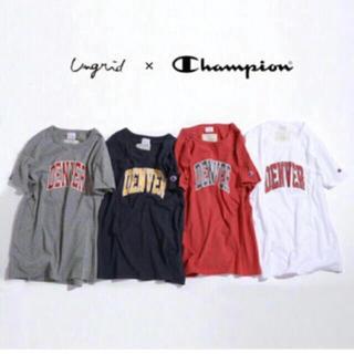 Ungrid×champion  DENVER Tシャツ