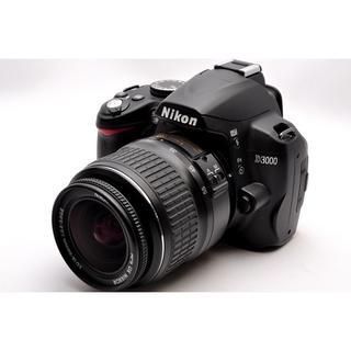 ニコン(Nikon)の❤️WiFi SDカード付き♪❤️Nikon ニコン D3000 レンズセット (デジタル一眼)