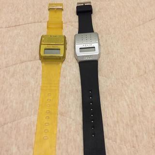 ビームス(BEAMS)のビームス ウォッチ2本セット(腕時計(デジタル))
