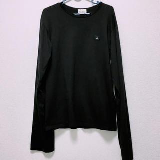 アクネ(ACNE)の期間限定 Acne Studios ロンT  ブラック  XS(Tシャツ/カットソー(七分/長袖))