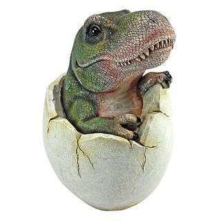 日本未発売 恐竜の卵 ティラノサウルス  Tレックスの赤ちゃん フィギュア 彫刻(SF/ファンタジー/ホラー)