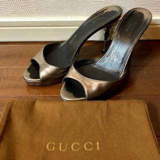 グッチ(Gucci)の天海様専用 GUCCI ミュール size35 1/2(ミュール)