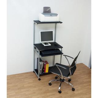 パソコンデスク PCデスク シンプル スリム 幅60cm 奥行45cm (オフィス/パソコンデスク)
