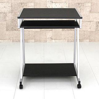 パソコンデスク PCデスク スライドテーブル付 机 幅64cm (オフィス/パソコンデスク)