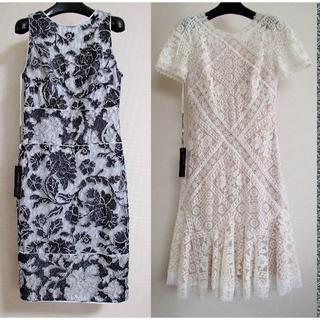 TADASHI SHOJI - 【2点セット】タダシTADASHI☆刺繍レースドレス お買い得セット♪