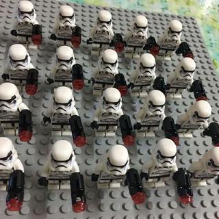 ホワイトトルーパーミニフィグ10体セット【送料無料】(SF/ファンタジー/ホラー)