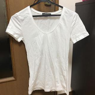 ザラ(ZARA)のZARA白Tシャツ(Tシャツ(半袖/袖なし))