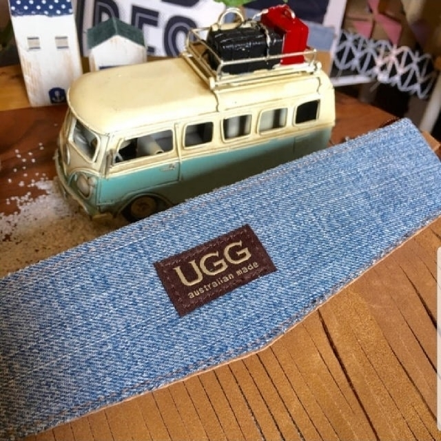 UGG(アグ)のアグ ネイティブ ugg ショルダーバッグ クラッチ フリンジ デニム オルテガ レディースのバッグ(クラッチバッグ)の商品写真