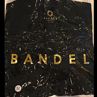 【非売品】BANDEL  Tシャツ ブラック&ゴールド(Tシャツ/カットソー(半袖/袖なし))