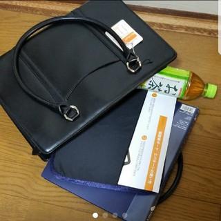 アオキ(AOKI)の新品 未使用 リクルートバッグ 黒 A4 AOKI(トートバッグ)