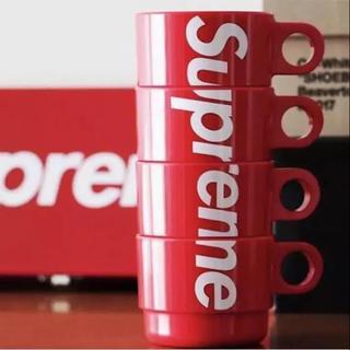 シュプリーム(Supreme)のsupreme Stacking Cups Set of 4 (グラス/カップ)