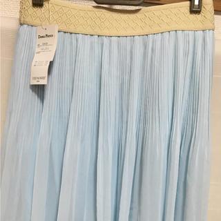 シマムラ(しまむら)の新品タグ付☆チュールスカート~ブルー(ひざ丈スカート)