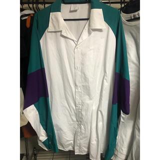 アクネ(ACNE)のMR.gentleman オープンカラーシャツ(シャツ)