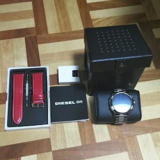 ディーゼル(DIESEL)のDIESELスマートウォッチdzt2004+替えベルト(腕時計(デジタル))
