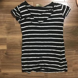 ザラ(ZARA)のZARA100%コットンTシャツ(Tシャツ(半袖/袖なし))
