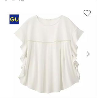 GU - 【新品未使用】GUラッフルT