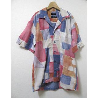 アレグリ(allegri)のallegri★アレグリ 半袖シャツ L 1大き目 レトロ メンズ イタリア製(シャツ)
