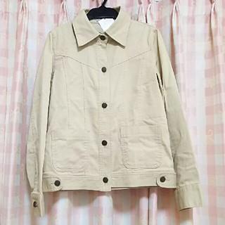 リズリサ(LIZ LISA)のリズリサ☆ベージュジャケット未着用タグ付き(Gジャン/デニムジャケット)