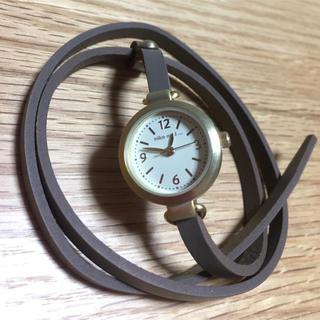 ニコアンド(niko and...)の【新品未使用】niko and...デザイン時計(腕時計)