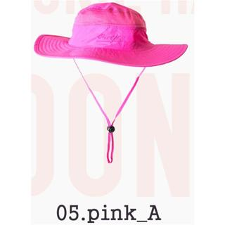 送料無料◇サファリハット◇ブーニーハット◇登山釣りUV◇色:pink_A(ハット)