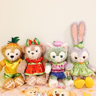 Disney - 香港♡ディズニー♡ダッフィーフレンズ♡フルーツ♡サマー♡ぬいぐるみ♡SSサイズ