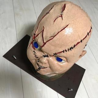 チャッキーの頭部と板セット  激レア(SF/ファンタジー/ホラー)