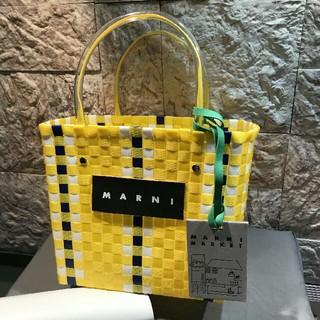 マルニ(Marni)のMARNI  ピクニックバッグ カゴ バッグ(かごバッグ/ストローバッグ)