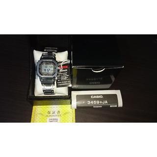 ジーショック(G-SHOCK)のGMW-B5000D-1jf【新品未使用、タグ2種・保護テープ完備】(腕時計(デジタル))
