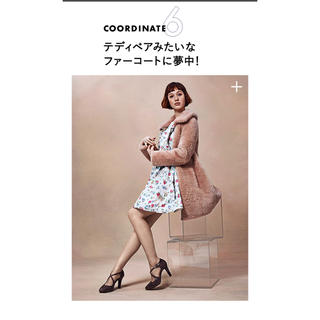 JILLSTUART - ジルスチュアートJILL STUARTティナフラワーワンピ2015aw美品