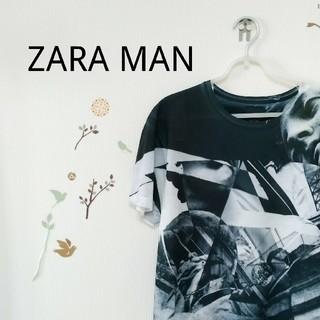 ザラ(ZARA)のZARAMAN  総柄Tシャツ(Tシャツ/カットソー(半袖/袖なし))