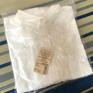 フレンチリネン洗いざらし ワイドシャツ