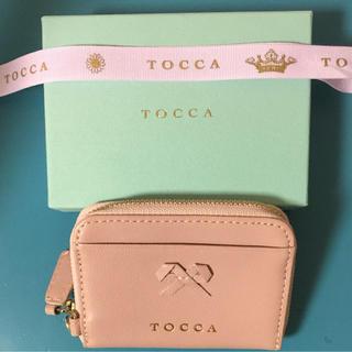 トッカ(TOCCA)の♡美品♡ TOCCA BAMBINI トッカ コインケース ピンク(コインケース)