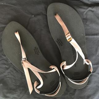 ヤエカ(YAECA)のbeautiful shoes サンダル 23.0〜23.5センチ(サンダル)
