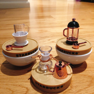 Starbucks Coffee - スターバックス 中国 フレンチプレス ハンドパンチポット コーヒー キーホルダー