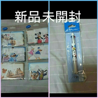 Disney - 新品 ディズニーリゾート 実写 付箋 メモ シャーペン ボールペン ミッキー