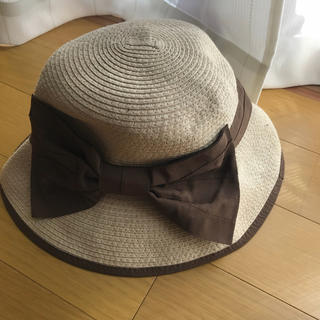 カシラ(CA4LA)のリボン 麦わら帽子(麦わら帽子/ストローハット)