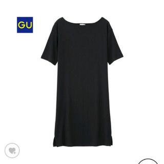 GU - リブ ロングTシャツ