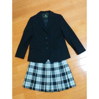 ザスコッチハウス(THE SCOTCH HOUSE)の中学受験用/卒業・入学用スーツ(紺ジャケ&チェックスカート)(ドレス/フォーマル)